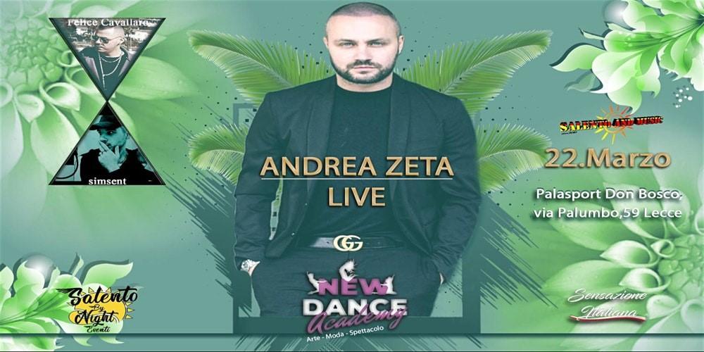 Concerto Andrea Zeta Lecce - 22 MARZO 2020