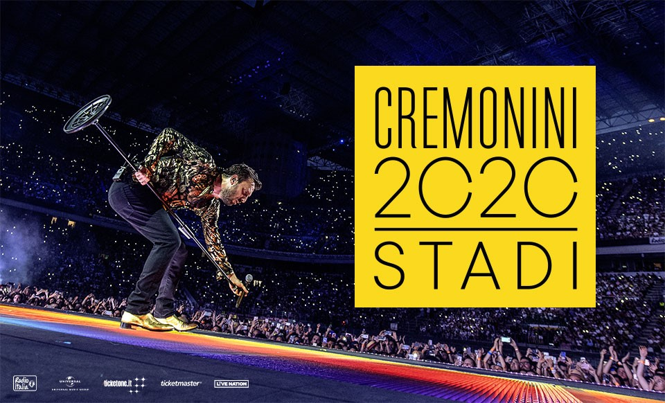 Concerto Cesare Cremonini 14 LUGLIO 2020 Bari